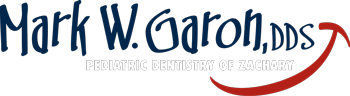 Logo for Pediatric dentist Dr. Mark W. Garon